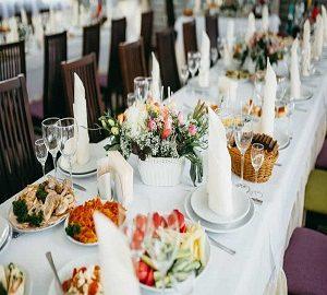 Kır Düğünü Yemek Siparişi